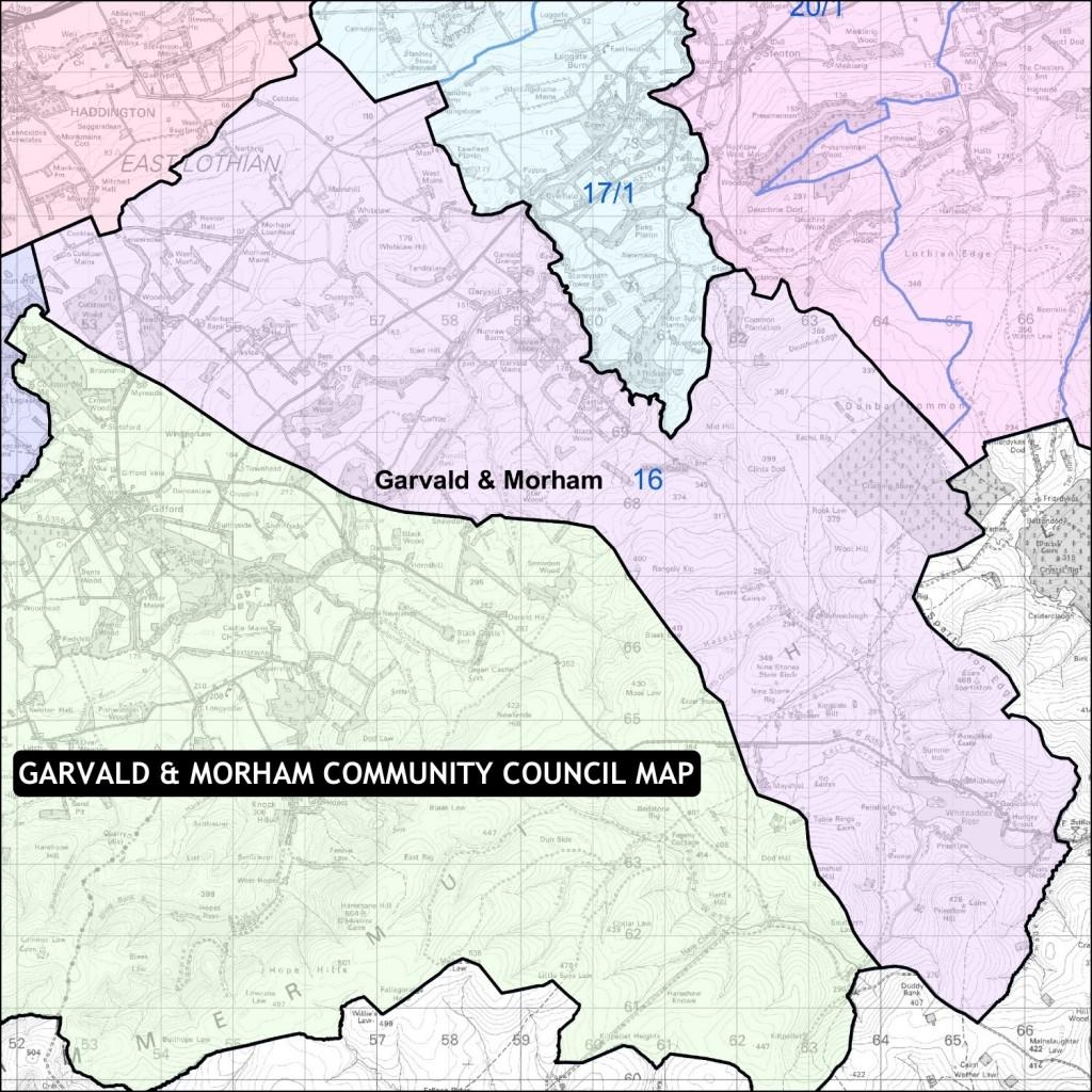 GMCC Area Map