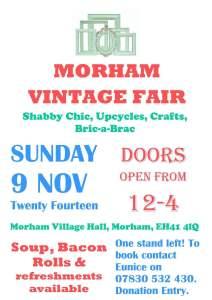 Morham Fair 2014