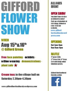 gifford flower show poster2015