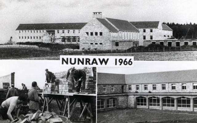 Nunraw Abbey postcard