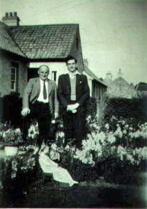 Tom Catleugh, John Webster at New House, Garvald