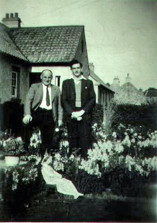 Tom Catleugh, John Webster at New House, Garvald