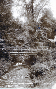 Footbridge across Papana Water