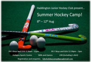HaddingtonJuniorHockeyClubSummerCamp2016