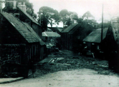 1948 Flood Looking East