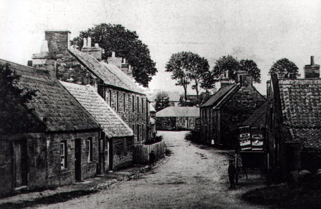 East End - Looking East Towards The Stables