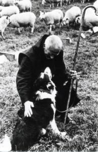 Shepherding at monastery
