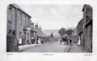 Garvald Inn, looking West