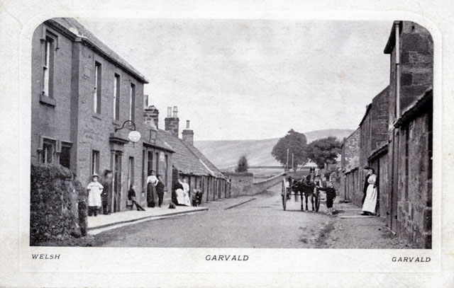 Garvald Inn, looking West