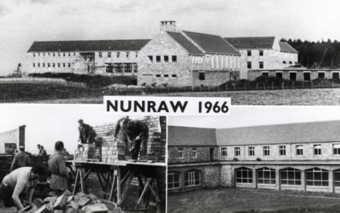 Nunraw Abbey postcard