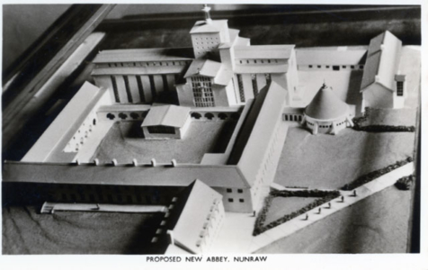 Nunraw Abbey Model