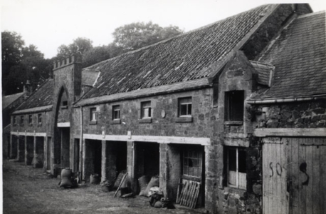 Farm buildings, Garvald