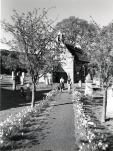 Garvald church