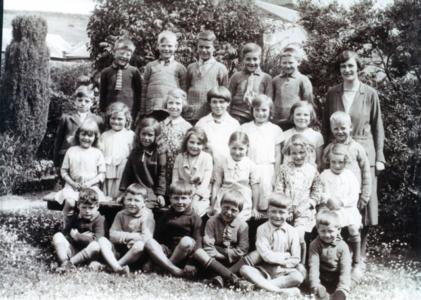 Garvald schoolchildren