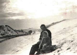 Mabel Chirnside and Patricia Webster Jan1954