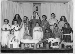 Nativity Play 1960 - from Hazel Clark