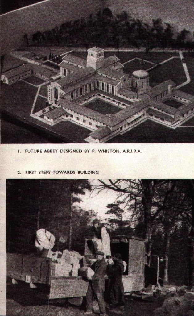 Nunraw Abbey Model