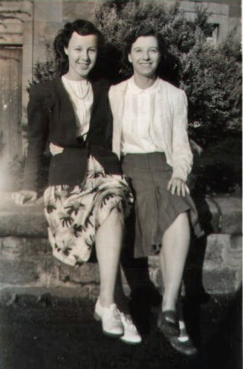 The two Margarets in Garvald 1948