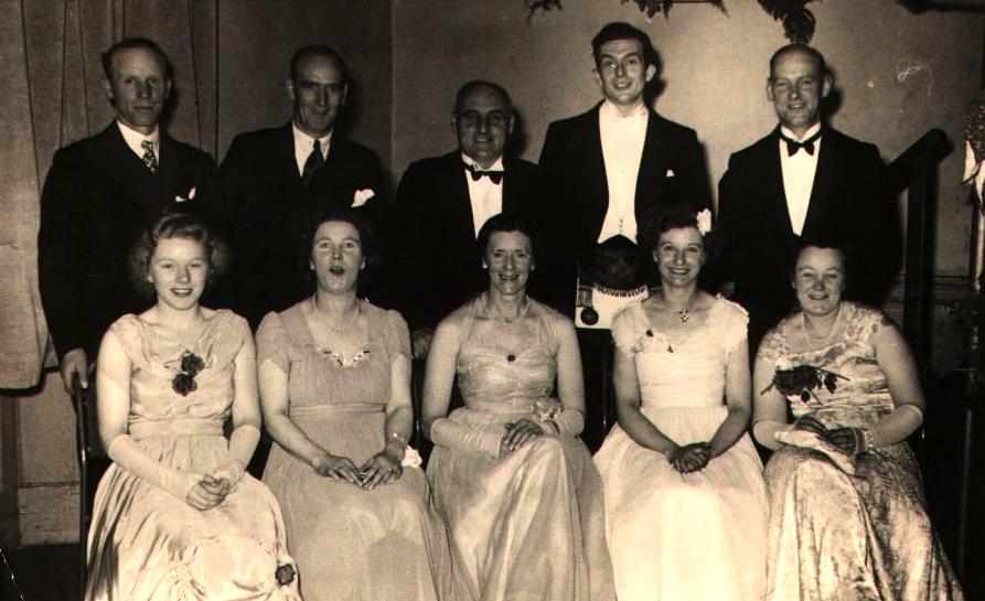Mason's Ball, Haddington 1950/51