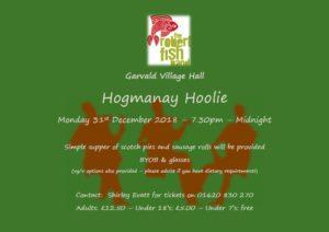 Hogmanay Hoolie, 31st Dec 7.30-12